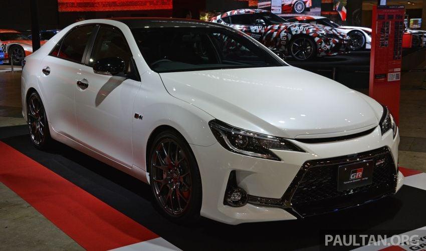 TAS 2019: Toyota Mark X GRMN returns – 318 PS 3.5L NA V6, six-speed manual, limited to 350 units Image #909921