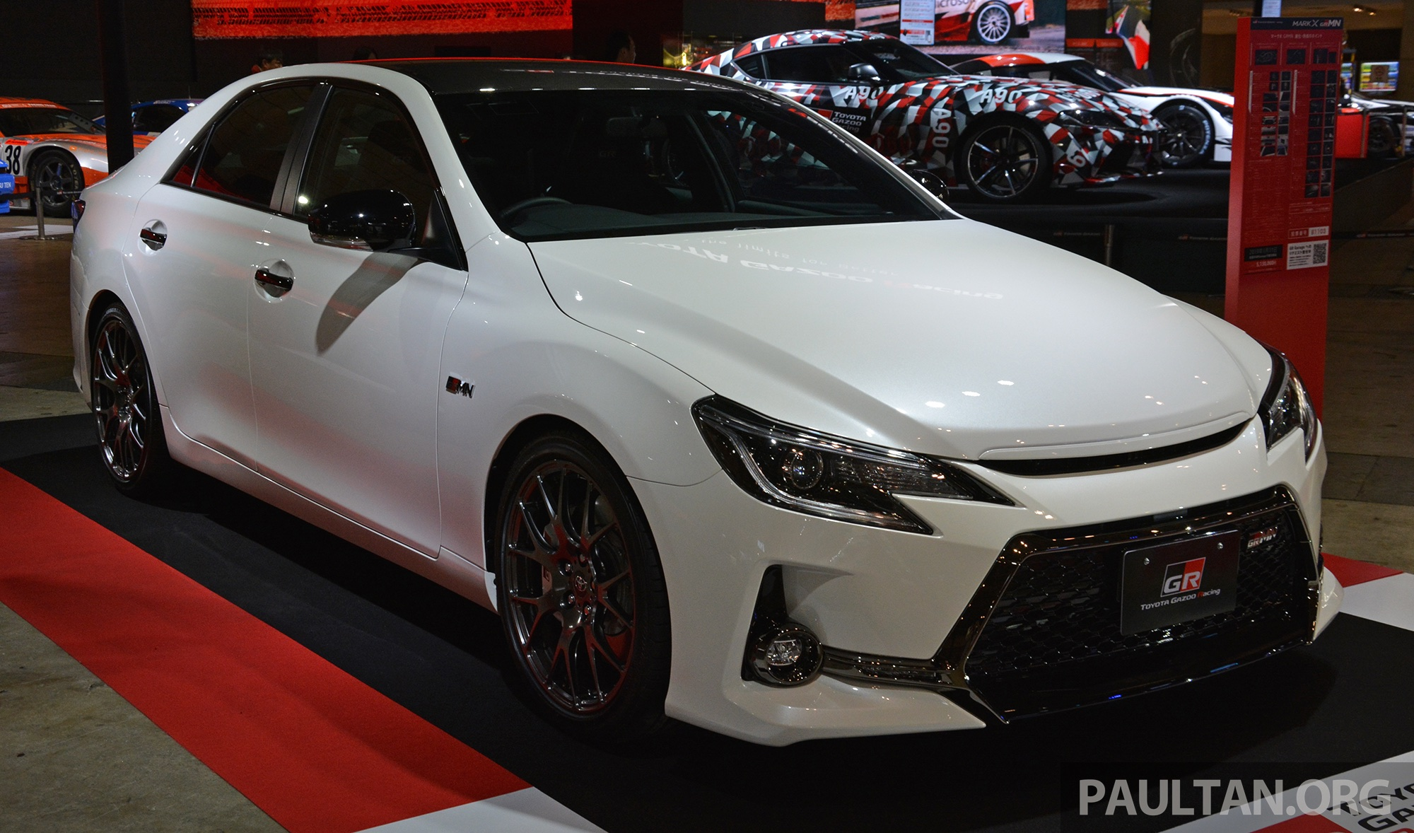 Tas 2019 Toyota Mark X Grmn Returns 318 Ps 3 5l Na V6 Six Speed Manual Limited To 350 Units Paultan Org