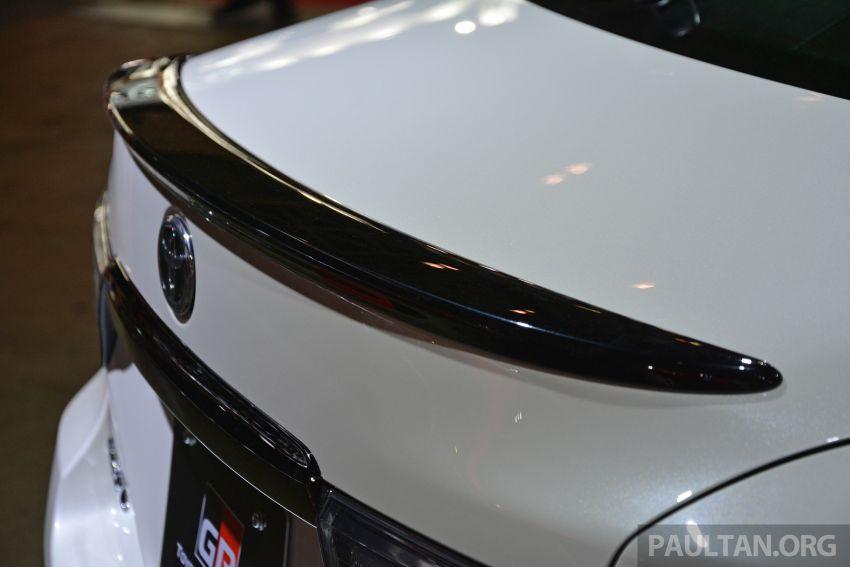 TAS2019: Toyota Mark X GRMN – 3.5L V6 NA, 318 PS/380 Nm, manual 6-kelajuan, terhad hanya 350-unit Image #909707