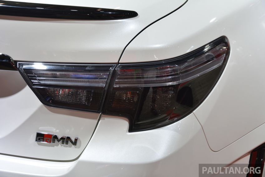TAS 2019: Toyota Mark X GRMN returns – 318 PS 3.5L NA V6, six-speed manual, limited to 350 units Image #909932