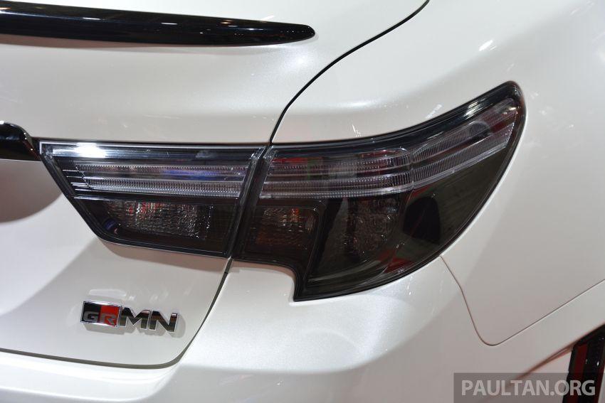TAS2019: Toyota Mark X GRMN – 3.5L V6 NA, 318 PS/380 Nm, manual 6-kelajuan, terhad hanya 350-unit Image #909708