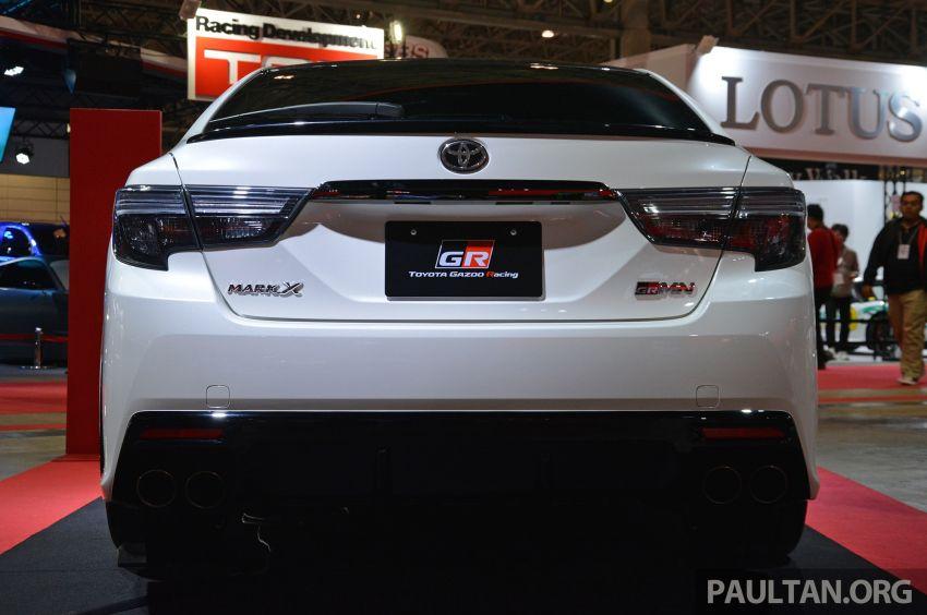 TAS 2019: Toyota Mark X GRMN returns – 318 PS 3.5L NA V6, six-speed manual, limited to 350 units Image #909933