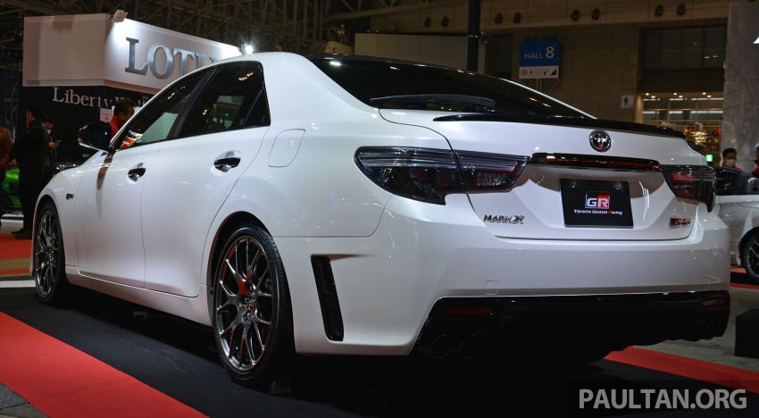 TAS 2019: Toyota Mark X GRMN returns – 318 PS 3.5L NA V6, six-speed manual, limited to 350 units Image #909934