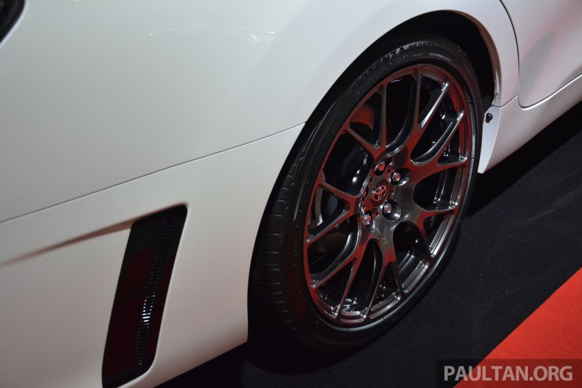 TAS 2019: Toyota Mark X GRMN returns – 318 PS 3.5L NA V6, six-speed manual, limited to 350 units Image #909935