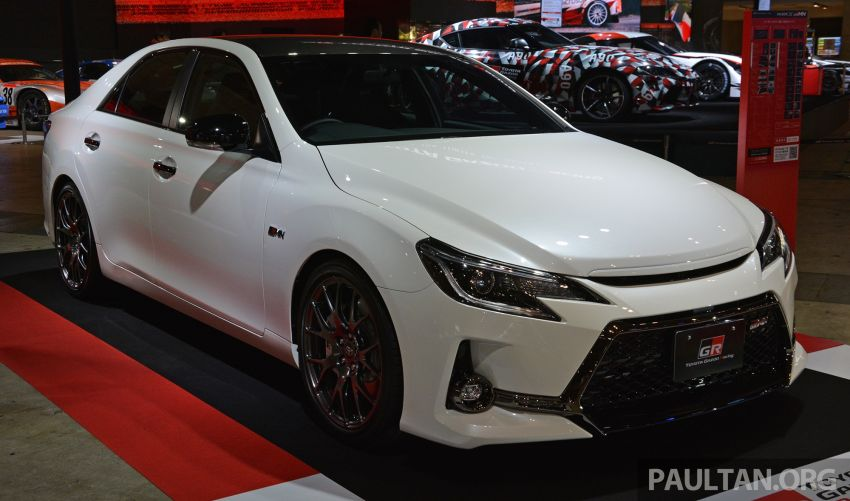 TAS2019: Toyota Mark X GRMN – 3.5L V6 NA, 318 PS/380 Nm, manual 6-kelajuan, terhad hanya 350-unit Image #909698