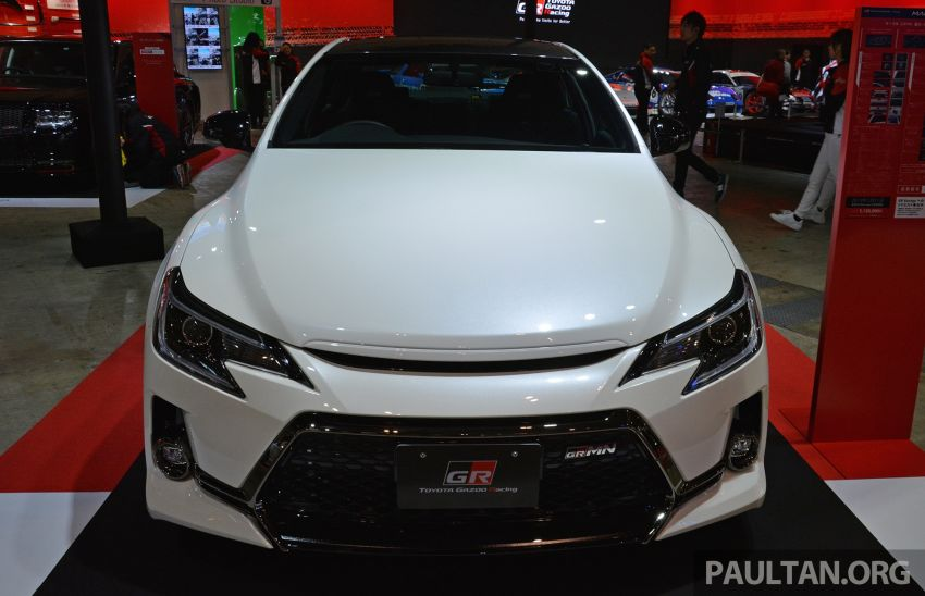 TAS 2019: Toyota Mark X GRMN returns – 318 PS 3.5L NA V6, six-speed manual, limited to 350 units Image #909923