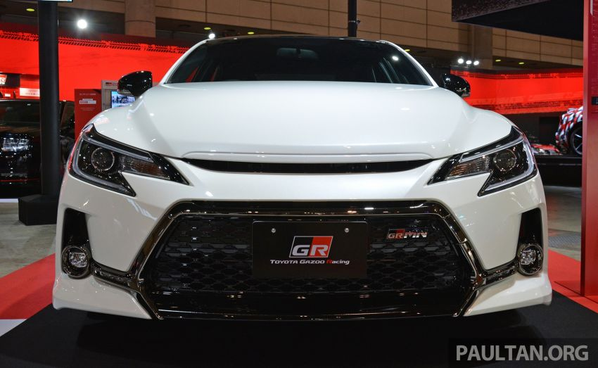 TAS 2019: Toyota Mark X GRMN returns – 318 PS 3.5L NA V6, six-speed manual, limited to 350 units Image #909924