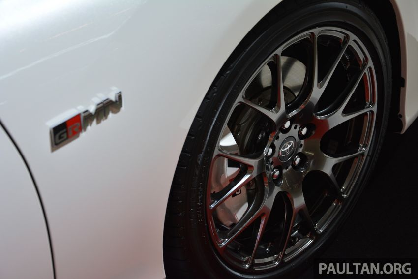 TAS2019: Toyota Mark X GRMN – 3.5L V6 NA, 318 PS/380 Nm, manual 6-kelajuan, terhad hanya 350-unit Image #909703
