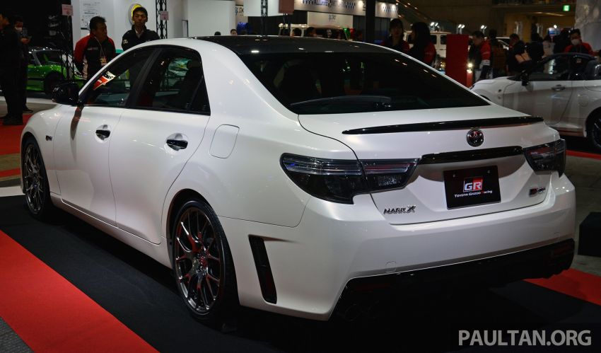 TAS 2019: Toyota Mark X GRMN returns – 318 PS 3.5L NA V6, six-speed manual, limited to 350 units Image #909930