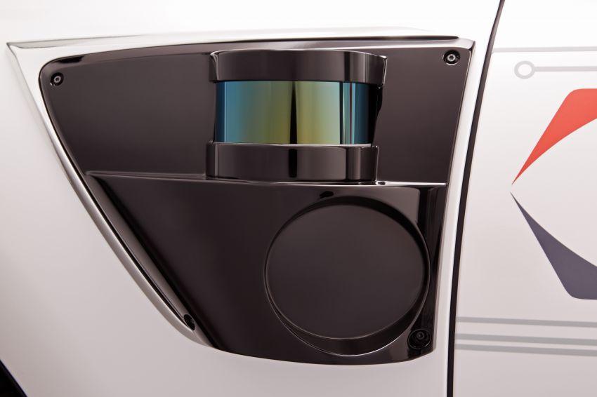 Toyota Research Institute reveals P4 autonomous driving prototype for CES – based on Lexus LS Image #906943