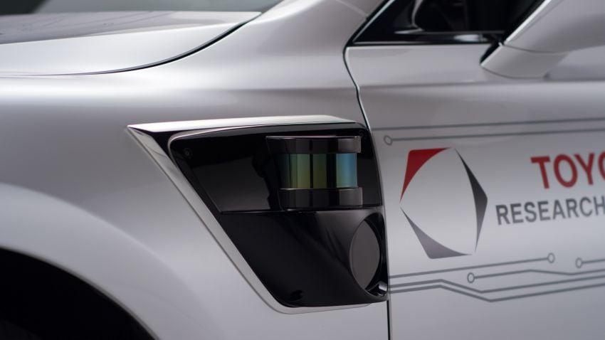 Toyota Research Institute reveals P4 autonomous driving prototype for CES – based on Lexus LS Image #906944