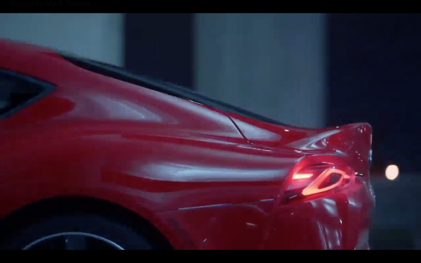 A90 Toyota Supra promo video leaked ahead of debut Image #909190