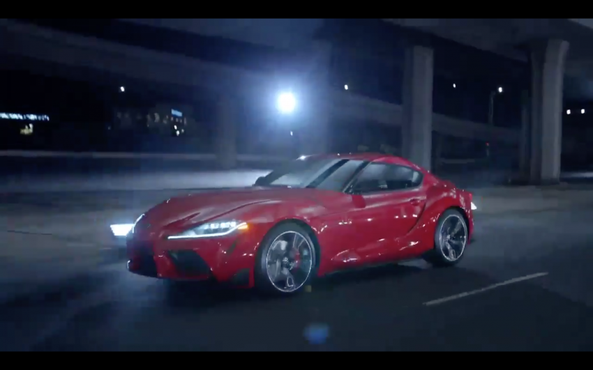 A90 Toyota Supra promo video leaked ahead of debut Image #909194