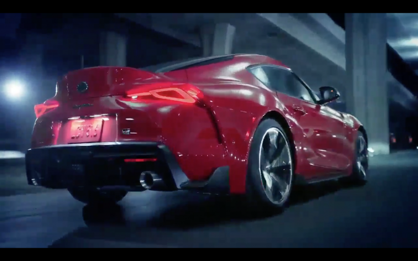 A90 Toyota Supra promo video leaked ahead of debut Image #909207