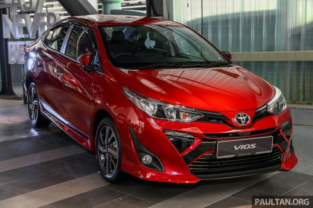 2019 Toyota Vios launched in Malaysia: RM77k-RM87k