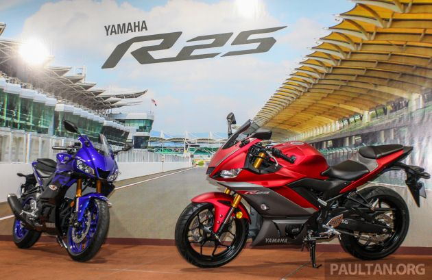 2019 Yamaha Yzf R25 Preview Launch In Malaysia Pricing To Be
