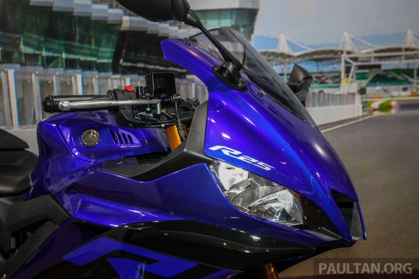 Yamaha R25 2019 tiba di M'sia – harga diumum Mac Image #916029