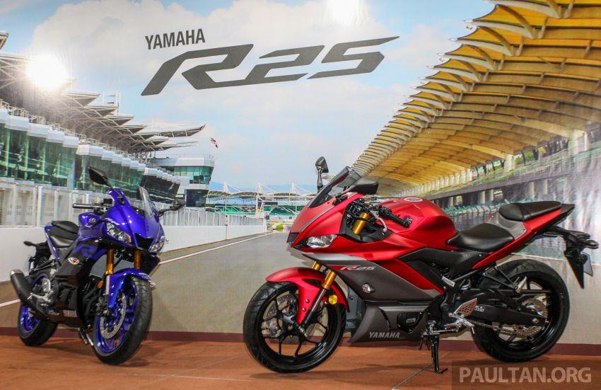 Yamaha R25 2019 tiba di M'sia – harga diumum Mac Image #916004