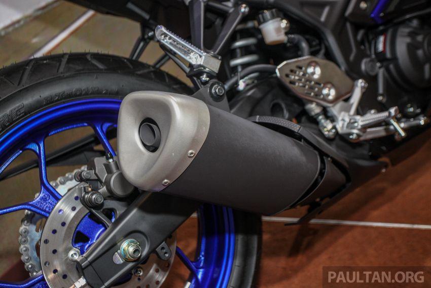 Yamaha R25 2019 tiba di M'sia – harga diumum Mac Image #916053