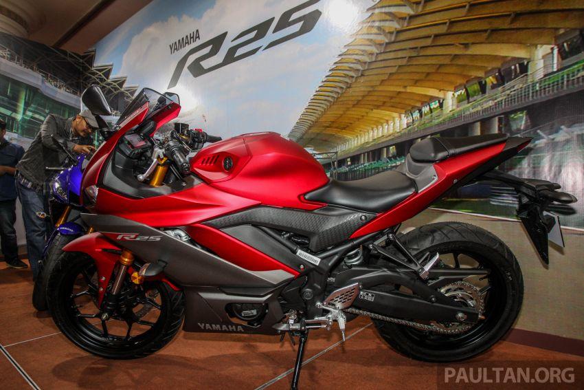 Yamaha R25 2019 tiba di M'sia – harga diumum Mac Image #916015