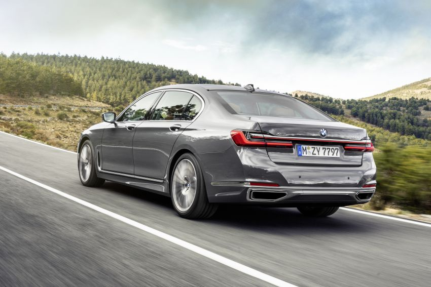 G11/G12 BMW 7 Series LCI debuts – revamped design, new I6 hybrid and V8 powertrains, updated tech Image #912386