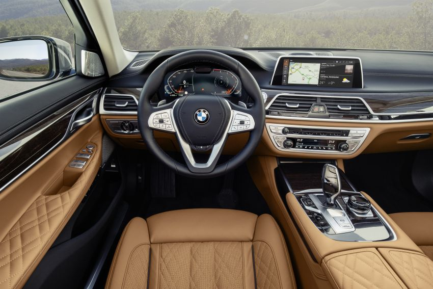 G11/G12 BMW 7 Series LCI debuts – revamped design, new I6 hybrid and V8 powertrains, updated tech Image #912394