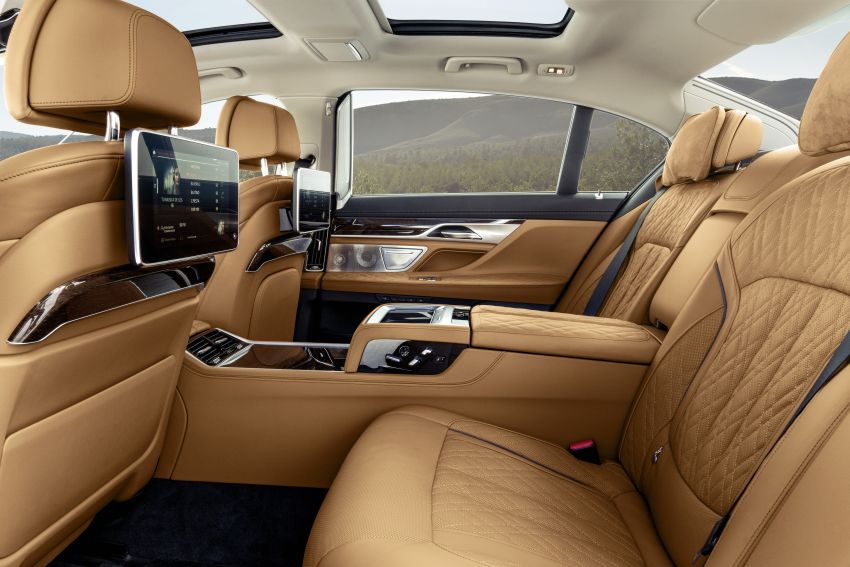 G11/G12 BMW 7 Series LCI debuts – revamped design, new I6 hybrid and V8 powertrains, updated tech Image #912397