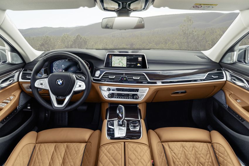 G11/G12 BMW 7 Series LCI debuts – revamped design, new I6 hybrid and V8 powertrains, updated tech Image #912400
