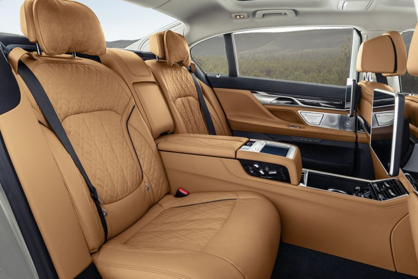 G11/G12 BMW 7 Series LCI debuts – revamped design, new I6 hybrid and V8 powertrains, updated tech Image #912401