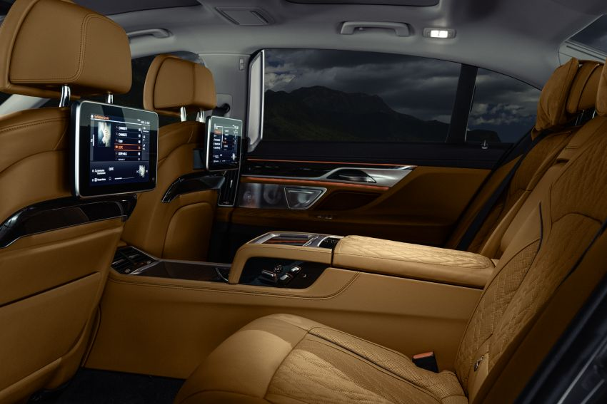 G11/G12 BMW 7 Series LCI debuts – revamped design, new I6 hybrid and V8 powertrains, updated tech Image #912403