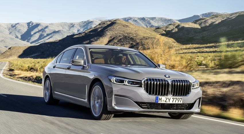 G11/G12 BMW 7 Series LCI debuts – revamped design, new I6 hybrid and V8 powertrains, updated tech Image #912387