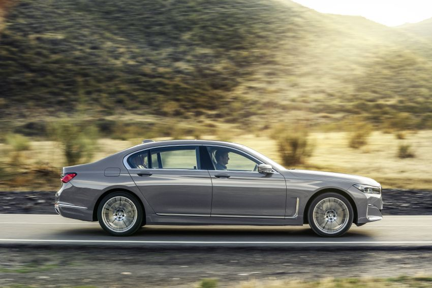 G11/G12 BMW 7 Series LCI debuts – revamped design, new I6 hybrid and V8 powertrains, updated tech Image #912406