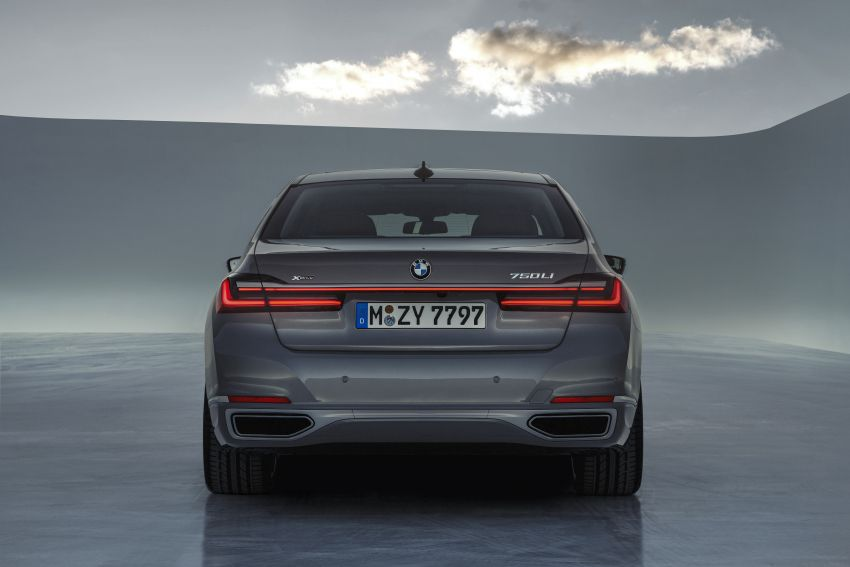 G11/G12 BMW 7 Series LCI debuts – revamped design, new I6 hybrid and V8 powertrains, updated tech Image #912407