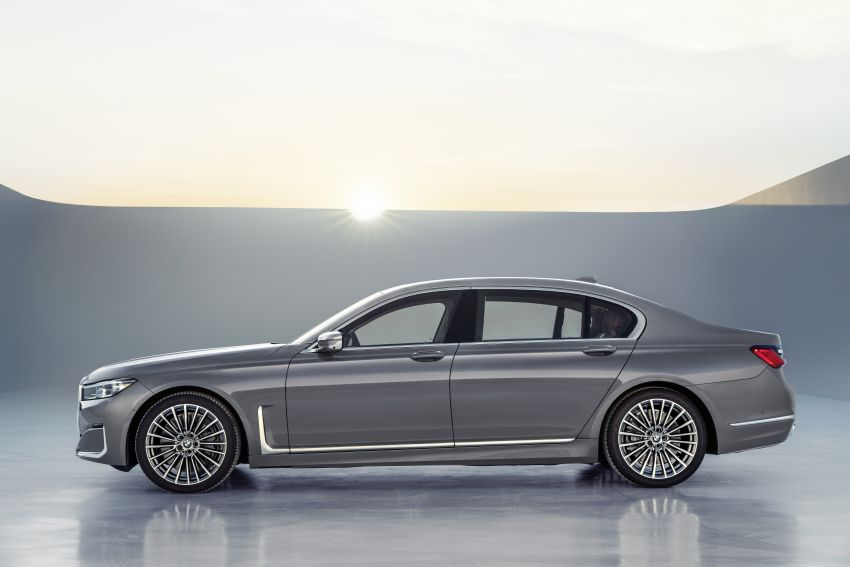 G11/G12 BMW 7 Series LCI debuts – revamped design, new I6 hybrid and V8 powertrains, updated tech Image #912408