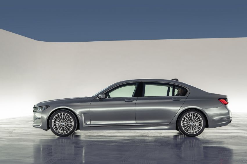 G11/G12 BMW 7 Series LCI debuts – revamped design, new I6 hybrid and V8 powertrains, updated tech Image #912409
