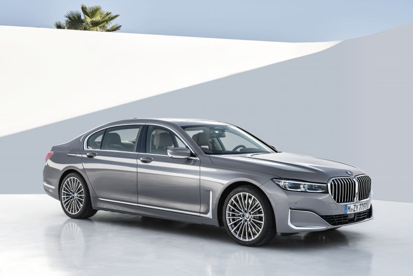 G11/G12 BMW 7 Series LCI debuts – revamped design, new I6 hybrid and V8 powertrains, updated tech Image #912410