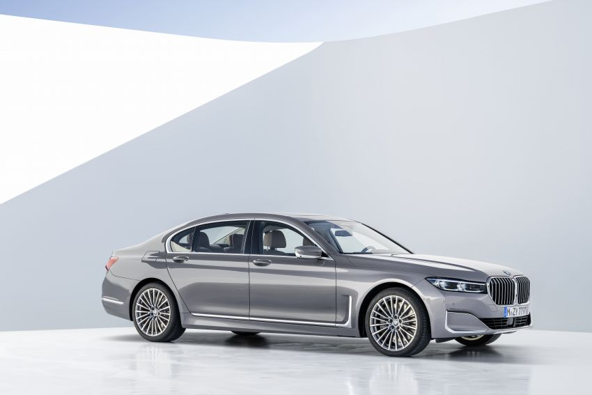 G11/G12 BMW 7 Series LCI debuts – revamped design, new I6 hybrid and V8 powertrains, updated tech Image #912411