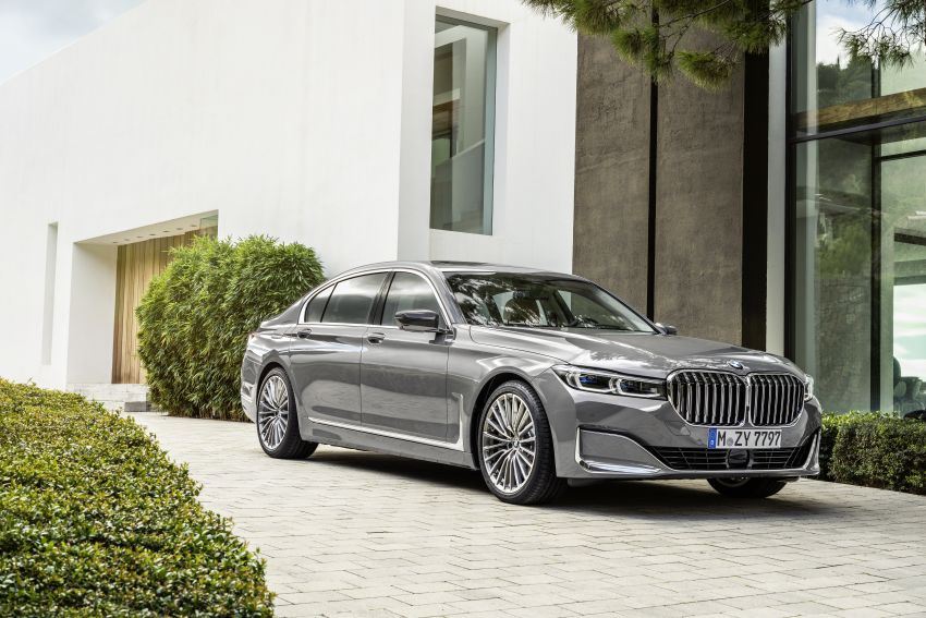 G11/G12 BMW 7 Series LCI debuts – revamped design, new I6 hybrid and V8 powertrains, updated tech Image #912412