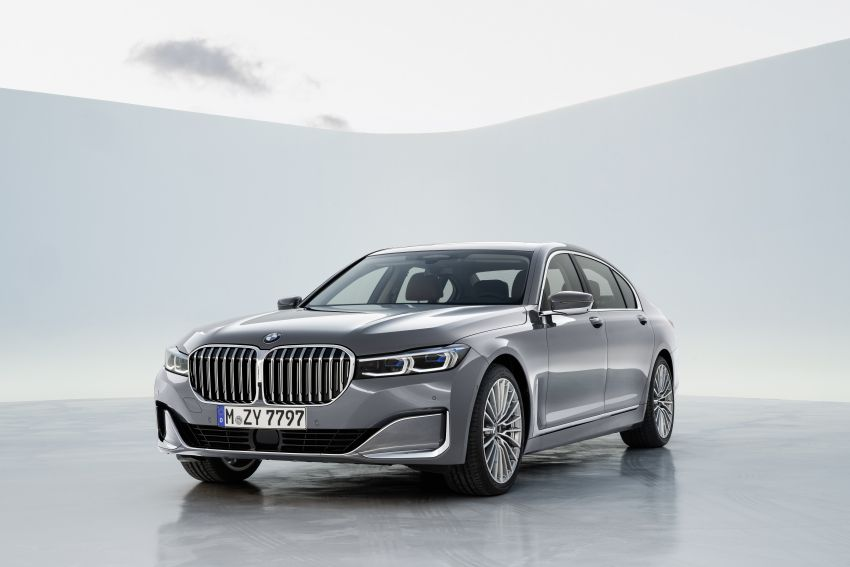 G11/G12 BMW 7 Series LCI debuts – revamped design, new I6 hybrid and V8 powertrains, updated tech Image #912413