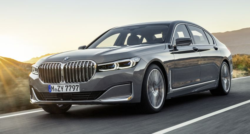G11/G12 BMW 7 Series LCI debuts – revamped design, new I6 hybrid and V8 powertrains, updated tech Image #912385