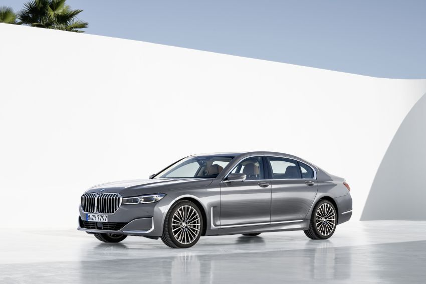 G11/G12 BMW 7 Series LCI debuts – revamped design, new I6 hybrid and V8 powertrains, updated tech Image #912414