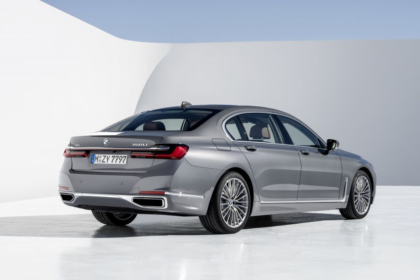 G11/G12 BMW 7 Series LCI debuts – revamped design, new I6 hybrid and V8 powertrains, updated tech Image #912415