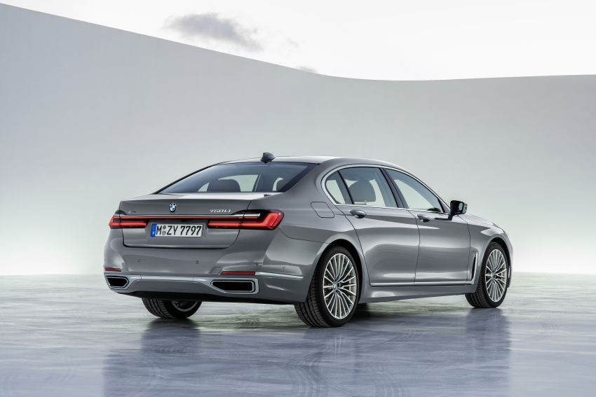 G11/G12 BMW 7 Series LCI debuts – revamped design, new I6 hybrid and V8 powertrains, updated tech Image #912416