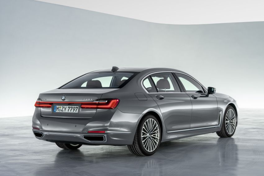 G11/G12 BMW 7 Series LCI debuts – revamped design, new I6 hybrid and V8 powertrains, updated tech Image #912417