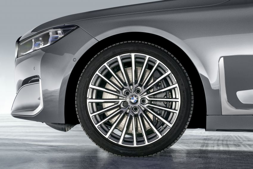 G11/G12 BMW 7 Series LCI debuts – revamped design, new I6 hybrid and V8 powertrains, updated tech Image #912418