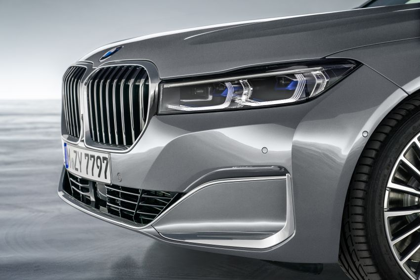 G11/G12 BMW 7 Series LCI debuts – revamped design, new I6 hybrid and V8 powertrains, updated tech Image #912419