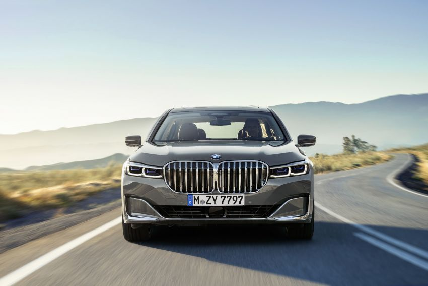 G11/G12 BMW 7 Series LCI debuts – revamped design, new I6 hybrid and V8 powertrains, updated tech Image #912388