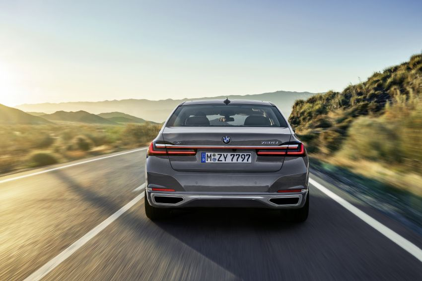 G11/G12 BMW 7 Series LCI debuts – revamped design, new I6 hybrid and V8 powertrains, updated tech Image #912389