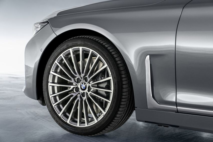 G11/G12 BMW 7 Series LCI debuts – revamped design, new I6 hybrid and V8 powertrains, updated tech Image #912390