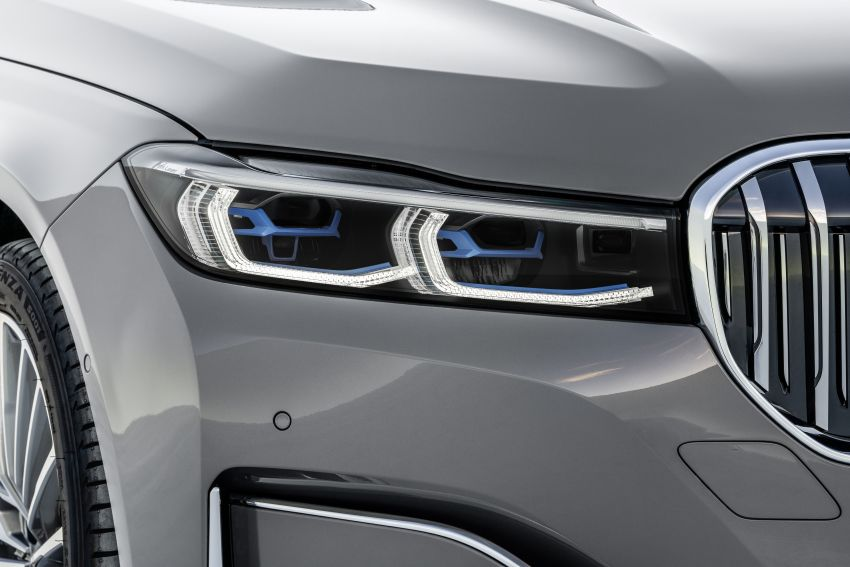 G11/G12 BMW 7 Series LCI debuts – revamped design, new I6 hybrid and V8 powertrains, updated tech Image #912393